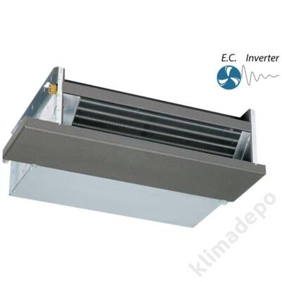 Ventherm HWB-E 5-2 légcsatornázható fan-coil - hátsó beszívással