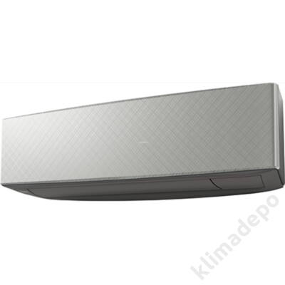 Fujitsu Design 2020 ASYG14KETAB multi inverter klíma beltéri egység - Silver X Dark gray